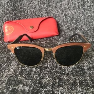 Ray-Ban Wooden Clubmaster